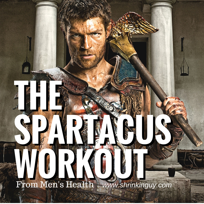 photo relating to Spartacus Workout Printable known as Spartacus Exercise session against Mens Health and fitness - Shrinkinguy Health